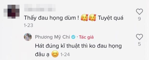 Phương Mỹ Chi cover Nàng Thơ: lên nốt cao vút khiến netizen thấy đau họng giùm, còn gọi tên Thùy Chi vì quá giống - Ảnh 4.
