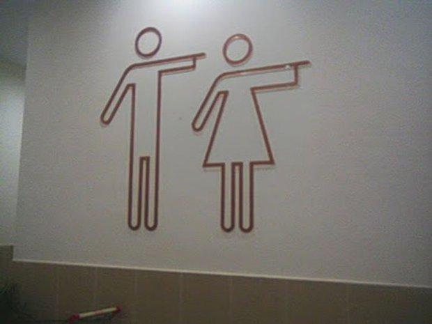 """Những biển toilet siêu buồn cười """"thấy một lần là nhớ cả đời"""", đúng là óc sáng tạo và hài hước của con người là bất tận! - Ảnh 11."""
