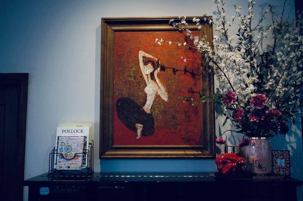 Nữ CEO cao tay phối hoa với tranh khiến không gian vừa sang trọng vừa tinh tế 10 điểm - Ảnh 3.