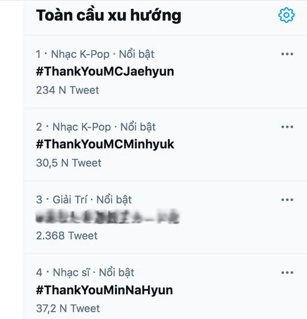 Bộ 3 MC rời Inkigayo lên top 1 trending toàn cầu: Ai cũng rưng rưng xúc động, diện outfit như ngày đầu tiên làm fan không nỡ chia tay - Ảnh 5.