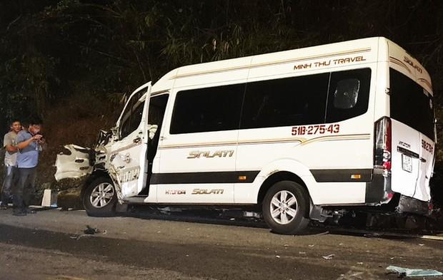 Vụ tai nạn liên hoàn trên đèo Bảo Lộc: Công an làm việc với 6 tài xế - Ảnh 2.