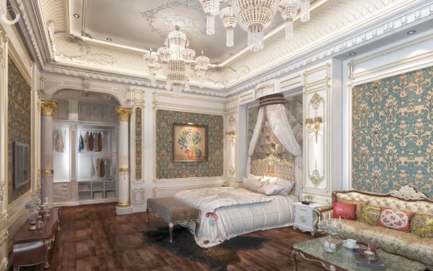 Lạc lối trong cung điện của đại gia Thành Thắng Group: Cao bằng toà nhà 18 tầng, diện tích sàn 15.000m2, 20 phòng ngủ, dát vàng khắp nơi - Ảnh 13.