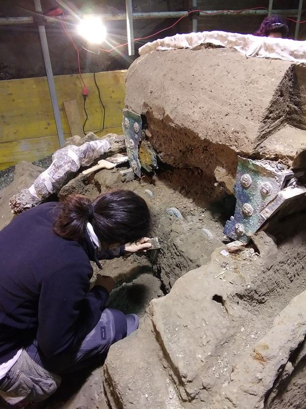 Mày mò tìm kiếm ở thành phố diệt vong Pompeii, các nhà khoa học sửng sốt khi khám phá ra thứ độc nhất vô nhị vô cùng quý giá - Ảnh 4.