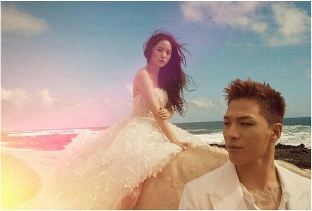 Kỷ niệm 3 năm ngày cưới của Taeyang - Min Hyo Rin: Nếu như không phải là cô gái này thì tôi đã không nghĩ đến chuyện kết hôn - Ảnh 7.