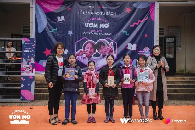 """WeDo """"Góp sách ươm mơ"""": Lan tỏa sự tử tế và nối dài hành trình yêu thương tới trẻ em Việt Nam - Ảnh 2."""