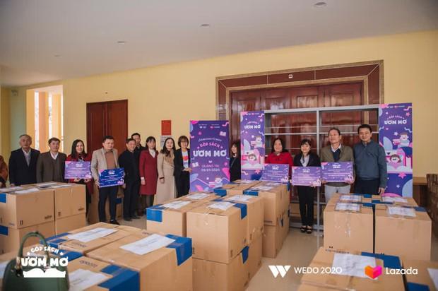 """WeDo """"Góp sách ươm mơ"""": Lan tỏa sự tử tế và nối dài hành trình yêu thương tới trẻ em Việt Nam - Ảnh 3."""