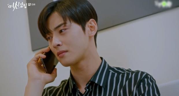 Vừa chia tay Cha Eun Woo, Moon Ga Young đã vội khóa môi Hwang In Yeop ở True Beauty tập 15? - Ảnh 1.