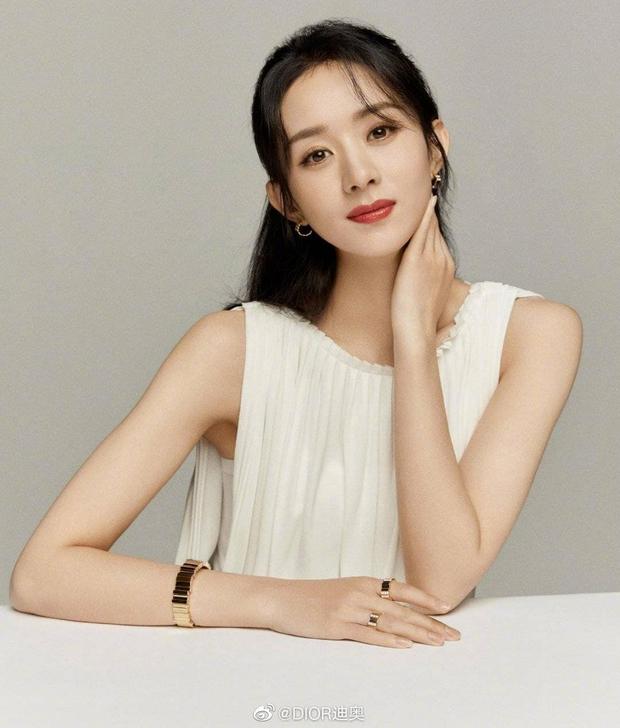 Triệu Lệ Dĩnh thành đại sứ trang sức của Dior Trung Quốc nhưng lại bị bàn tán vì trông như cosplay Dương Mịch - Ảnh 1.