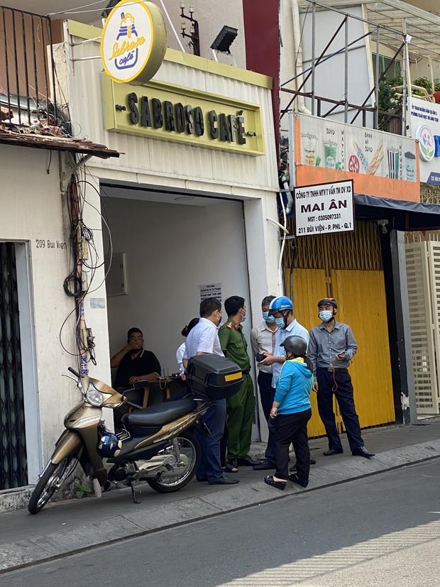 TP. HCM: Phong tỏa quán cafe trên phố đi bộ Bùi Viện vì BN1883 ở Hà Nội từng ghé - Ảnh 3.