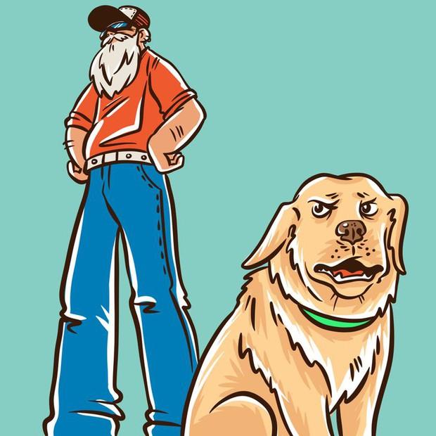 Nỗi lòng của những người sợ chó: Tại sao chó nhìn thấy bạn lại sủa, với người khác thì không? - Ảnh 2.