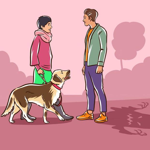 Nỗi lòng của những người sợ chó: Tại sao chó nhìn thấy bạn lại sủa, với người khác thì không? - Ảnh 6.