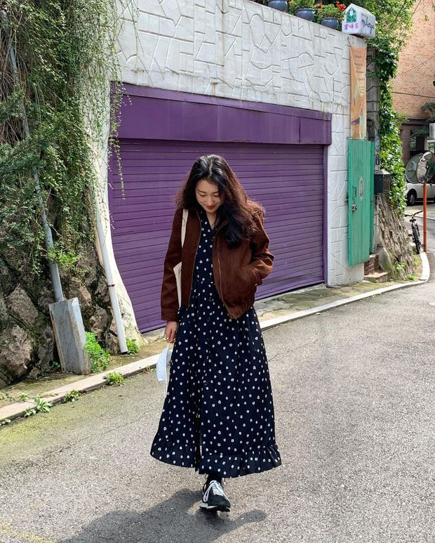 Diện váy theo những công thức chuẩn Hàn này là suốt mấy ngày Tết bạn sẽ đều có outfit đẹp để du xuân - Ảnh 4.