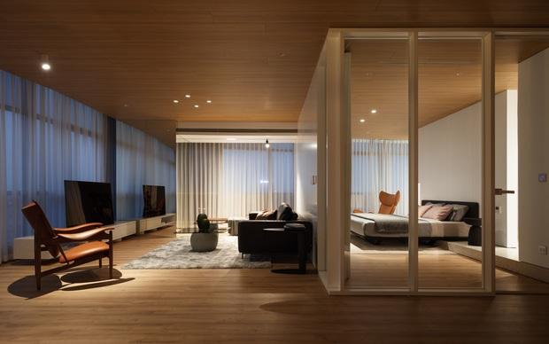 Căn hộ có góc nhìn Panorama bao trọn phía Tây thành phố, nội thất đơn giản nhưng sang trọng đẳng cấp 5 sao - Ảnh 4.