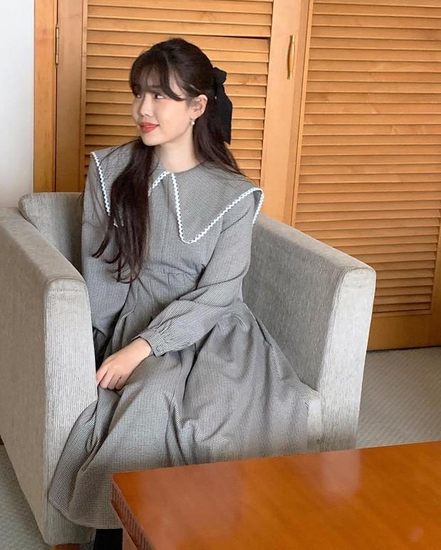 Diện váy theo những công thức chuẩn Hàn này là suốt mấy ngày Tết bạn sẽ đều có outfit đẹp để du xuân - Ảnh 2.