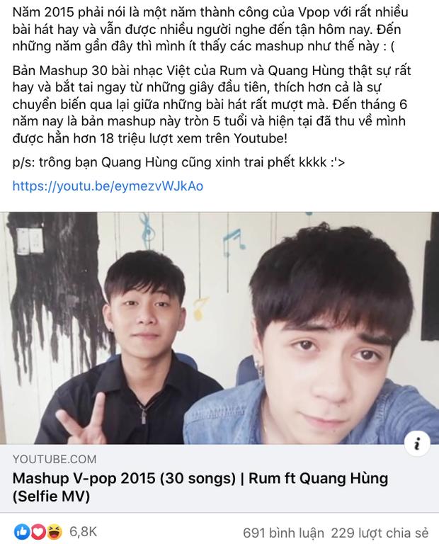 Netizen đào lại clip mashup Vpop 2015 đỉnh của chóp: Nghe lại vẫn hay như 5 năm trước, thể hiện bởi ca sĩ Việt đang cực hot ở Thái Lan - Ảnh 2.