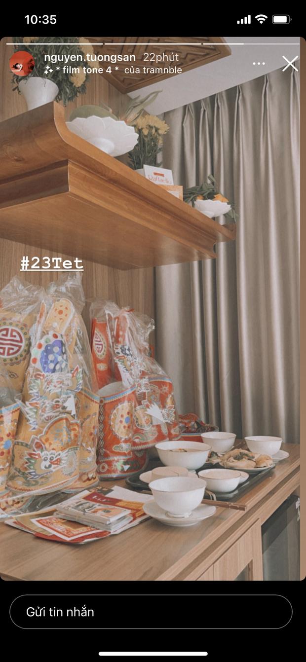 Sao Vbiz tất bật cúng ông Công ông Táo: Thu Minh - Tự Long dâng mâm cỗ thịnh soạn, trầm trồ tay nghề của Văn Mai Hương - Tường San - Ảnh 5.