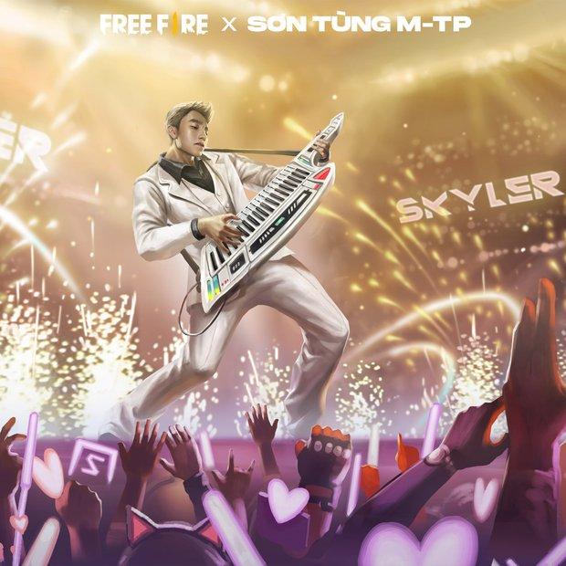 Không chỉ Sơn Tùng M-TP xuất hiện trong Free Fire, điều bất ngờ là cả công ty M-TP Entertaiment cũng có mặt trong tựa game này - Ảnh 3.