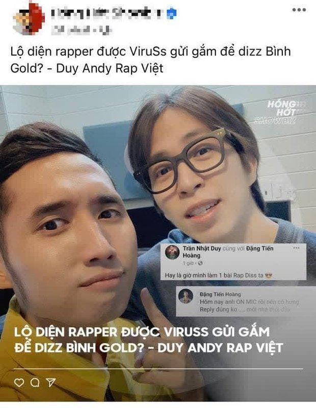 Không tự rap được, ViruSs đành nhờ trò cưng của HLV Karik để sáng tác bài diss Bình Gold? - Ảnh 3.