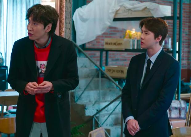 Trước khi lên cân chóng mặt, Sehun (EXO) vẫn soái ca ngời ngời thế này khi ghi hình show Busted! 3 - Ảnh 4.