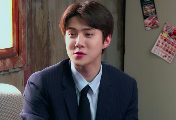 Trước khi lên cân chóng mặt, Sehun (EXO) vẫn soái ca ngời ngời thế này khi ghi hình show Busted! 3 - Ảnh 5.