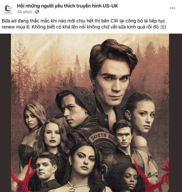 Netizen Việt được phen hết cả hồn trước tin phim Riverdale làm tiếp mùa thứ 6: Dừng lại đi làm ơn! - Ảnh 5.