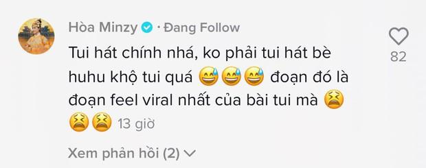 Bị anti fan ném đá vì nghi vấn hát bè đè giọng Anh Tú, Hoà Minzy lập tức lên tiếng - Ảnh 4.