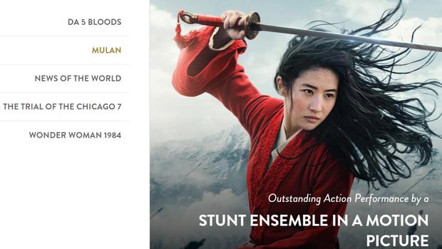 Lưu Diệc Phi chính thức bị diễn viên đóng thế Mulan qua mặt cả nhan sắc lẫn sân chơi giải thưởng - Ảnh 6.