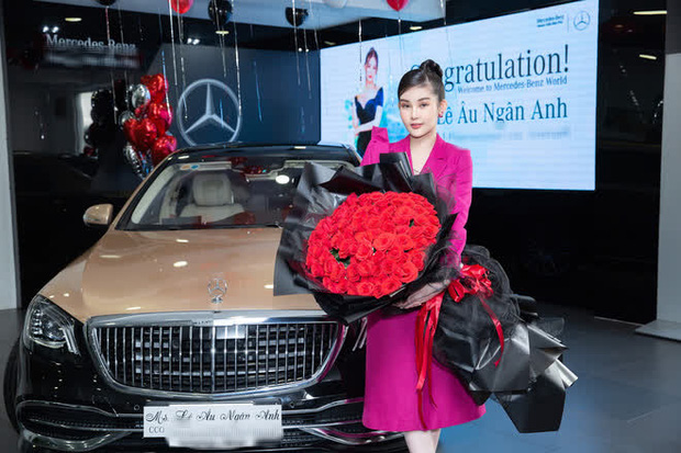 Vừa nhận thưởng Tết khủng và lên chức Giám đốc, Lê Âu Ngân Anh tậu luôn siêu xe 8 tỷ đồng - Ảnh 2.