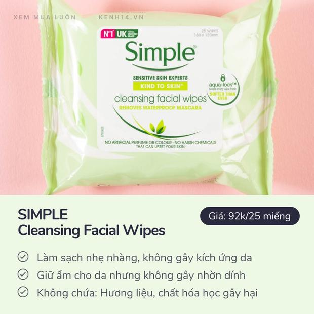 4 loại khăn giấy tẩy trang hiệu quả kiêm dưỡng ẩm da giá chỉ từ 29k - Ảnh 6.