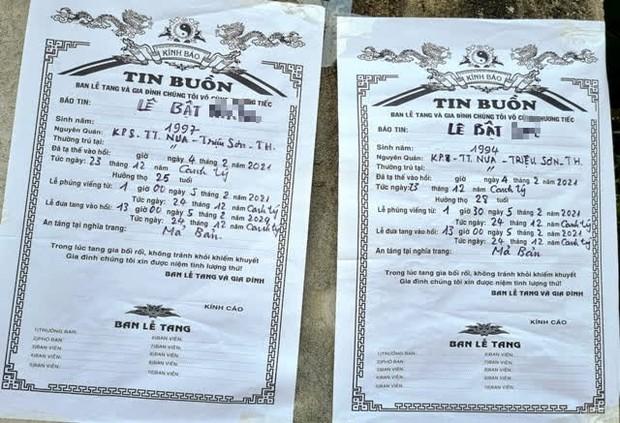 4 thanh niên tử vong trong vụ cháy do đốt vàng mã ở Hà Nội: Người vợ mang thai 8 tháng ôm linh cữu chồng khóc nghẹn - Ảnh 1.
