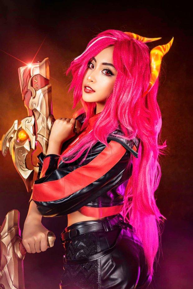 Ngắm full bộ ảnh cosplay của Minh Nghi, sexy thế này bảo sao người mìn cứ say như điếu đổ! - Ảnh 3.