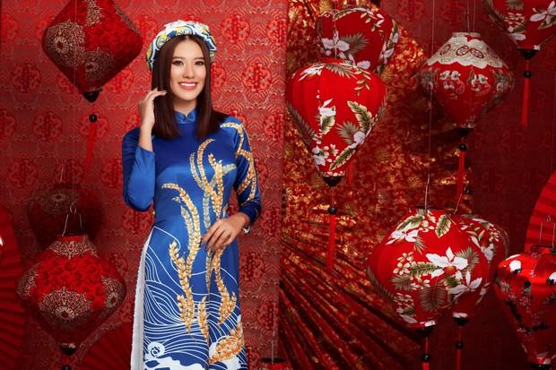 Kim Duyên bị soi dao kéo vì mặt đơ cứng, Thuý Vân hậu sinh nở vẫn chặt đẹp dàn mỹ nhân HHHV trong bộ ảnh đón Xuân - Ảnh 5.