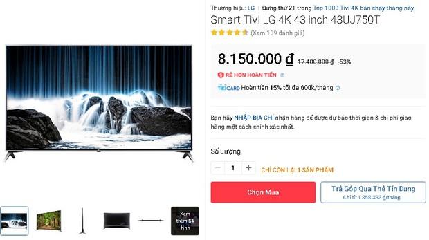 Loạt tivi từ 5 - 10 triệu đang được sale mạnh, có mẫu giảm đến cả chục triệu - Ảnh 7.