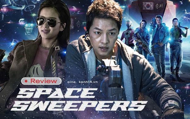 Space Sweepers: Hình ảnh mãn nhãn, Song Joong Ki diễn cực đỉnh nhưng kịch bản lê thê ru ngủ cả người xem - Ảnh 1.