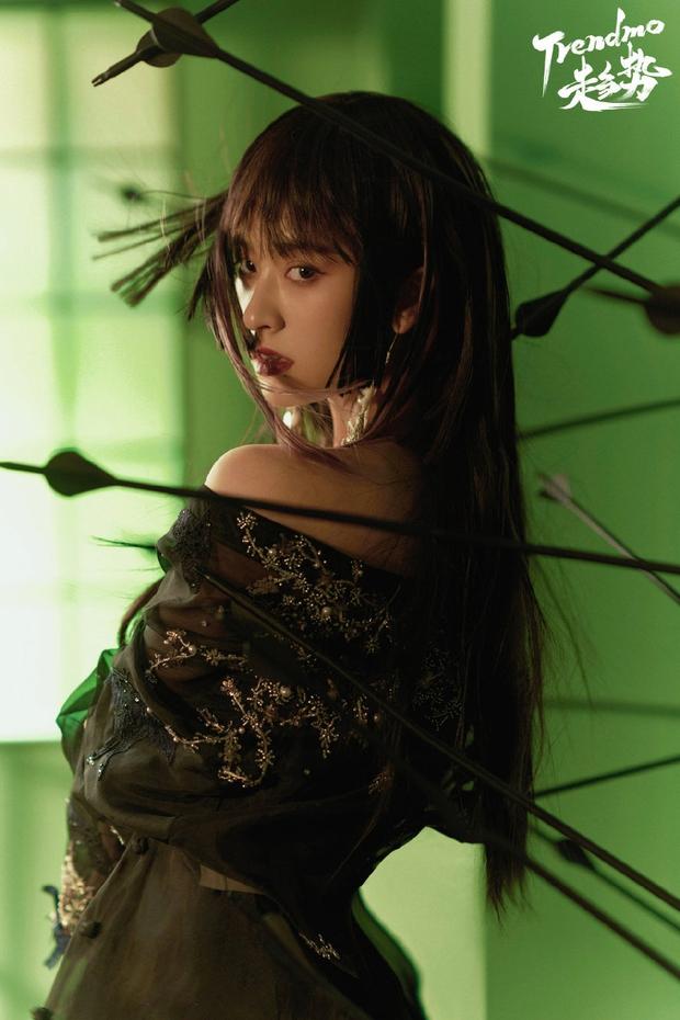 Bộ ảnh mới của Thẩm Nguyệt (Vườn Sao Băng) khiến cả Weibo ngỡ ngàng: Đúng là một trời một vực so với ngày xưa! - Ảnh 3.