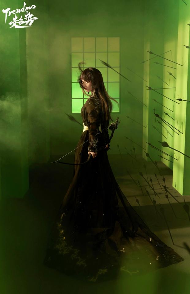 Bộ ảnh mới của Thẩm Nguyệt (Vườn Sao Băng) khiến cả Weibo ngỡ ngàng: Đúng là một trời một vực so với ngày xưa! - Ảnh 4.