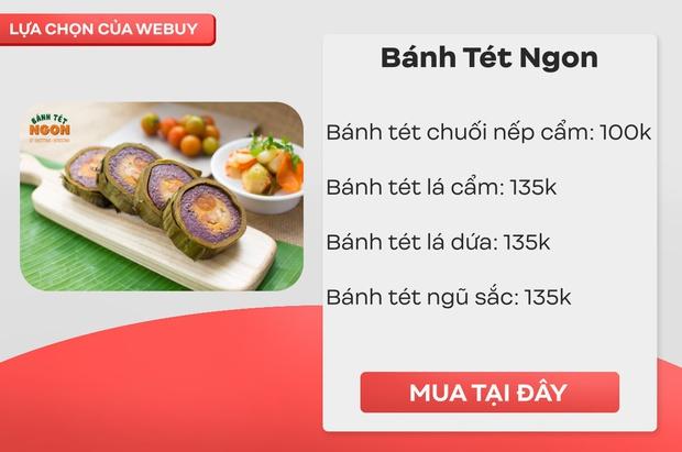 Tết Sài Gòn: Mách nhanh 5 địa chỉ bán bánh tét ngon, rẻ, đủ vị lại nhận ship tận nơi - Ảnh 4.