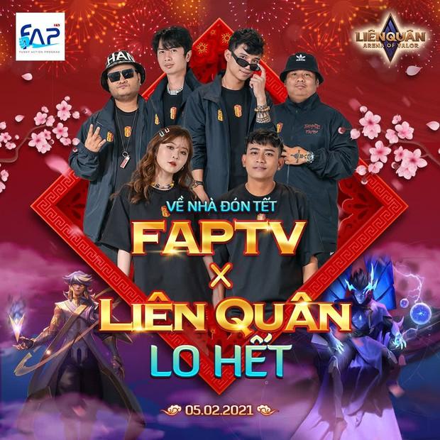 FAPtv ra mắt phim hài Tết cười không nhặt được mồm, hé lộ Huỳnh Phương và Thái Vũ là cao thủ Liên Quân Mobile - Ảnh 3.