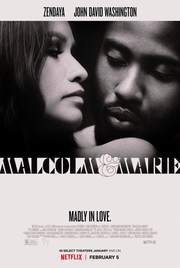 Malcolm & Marie: Vào mà xem gái trẻ Zendaya trổ mã cực nuột, vừa ngoạc mồm cãi lộn đã tình tứ ngọt lịm bên nam tài tử Tenet - Ảnh 2.