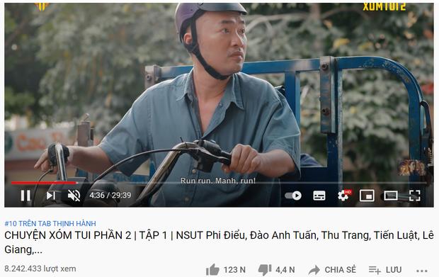 Thu Trang chiếm đẹp 3 vị trí ở top 10 trending YouTube, ai nhắm làm lại Chị Mười Ba thì ra đây! - Ảnh 3.