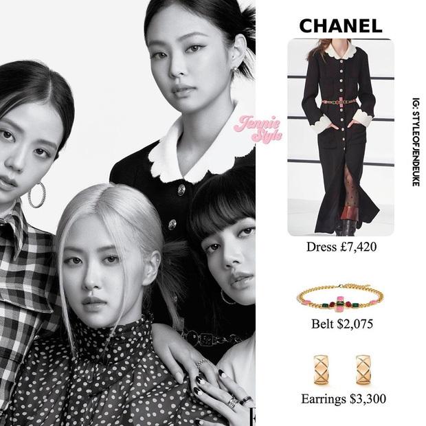 """Lấn át cả Jennie và Tống Thiến về độ """"bạo chi"""", Quan Hiểu Đồng diện hẳn áo Chanel 200 triệu ra sân bay - Ảnh 6."""