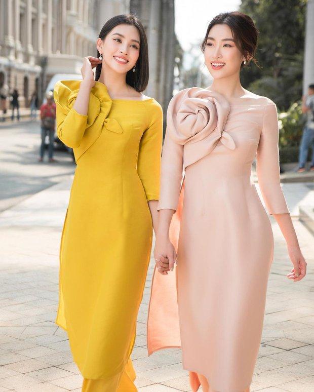 1001 sắc thái áo dài của mỹ nhân Việt ngày cận Tết, từ cách tân mới mẻ đến truyền thống đều có đủ - Ảnh 9.