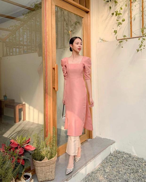 1001 sắc thái áo dài của mỹ nhân Việt ngày cận Tết, từ cách tân mới mẻ đến truyền thống đều có đủ - Ảnh 7.
