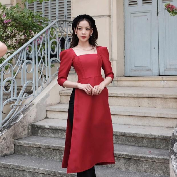 1001 sắc thái áo dài của mỹ nhân Việt ngày cận Tết, từ cách tân mới mẻ đến truyền thống đều có đủ - Ảnh 6.