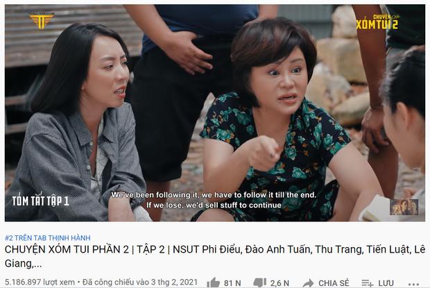 Thu Trang chiếm đẹp 3 vị trí ở top 10 trending YouTube, ai nhắm làm lại Chị Mười Ba thì ra đây! - Ảnh 1.