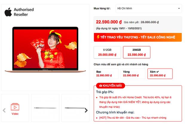 5 mẫu laptop tầm 20 - 25 triệu đồng đang được giảm giá tốt dịp Tết - Ảnh 1.