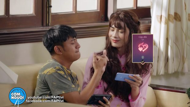 FAPtv ra mắt phim hài Tết cười không nhặt được mồm, hé lộ Huỳnh Phương và Thái Vũ là cao thủ Liên Quân Mobile - Ảnh 6.