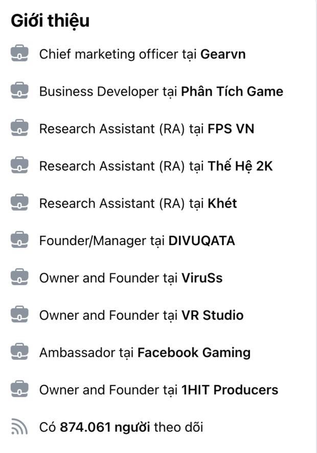 Đây là sự nghiệp và gia tài kếch xù của ViruSs, xin hỏi Bình Gold muốn phá cái nào? - Ảnh 3.