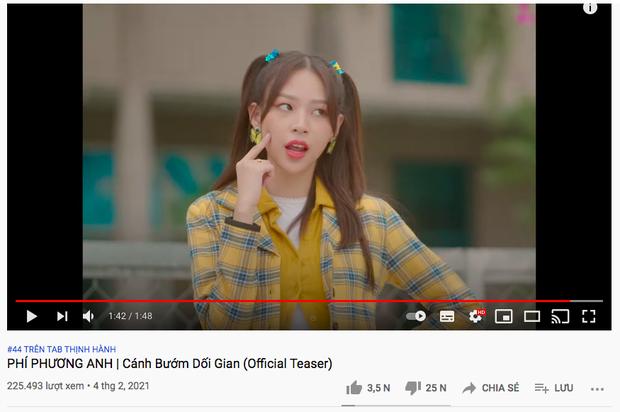 Bộ tứ drama Vpop có gì: ViruSs có hit trăm triệu view, Trang Pháp - Bình Gold cũng không vừa riêng Phí Phương Anh thì sao? - Ảnh 24.