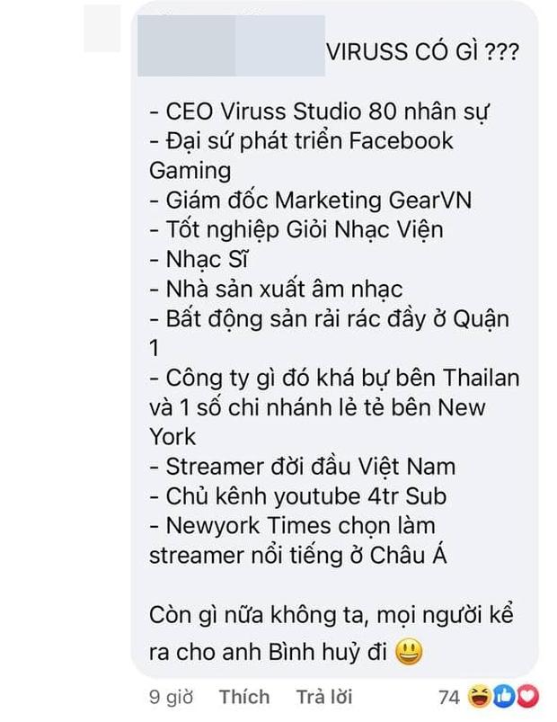 Dân mạng làm 2 bài văn mẫu về sự nghiệp ViruSs, phản dame lại phát ngôn trên cơ của Bình Gold ẩn ý phá huỷ sự nghiệp ai đó - Ảnh 10.